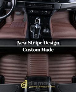 Stripe Diamond Car Mats