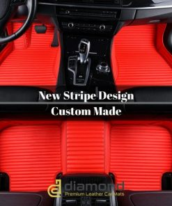 Stripe Diamond Car Mats