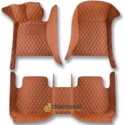 brown diamond car floor mats