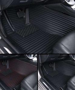 Luxury Leather Car Mats Diamond Car Mats