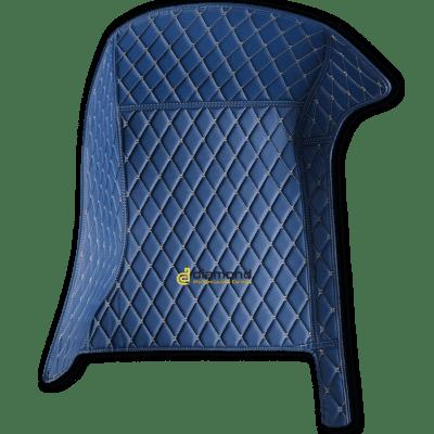 marine blue diamond car mats